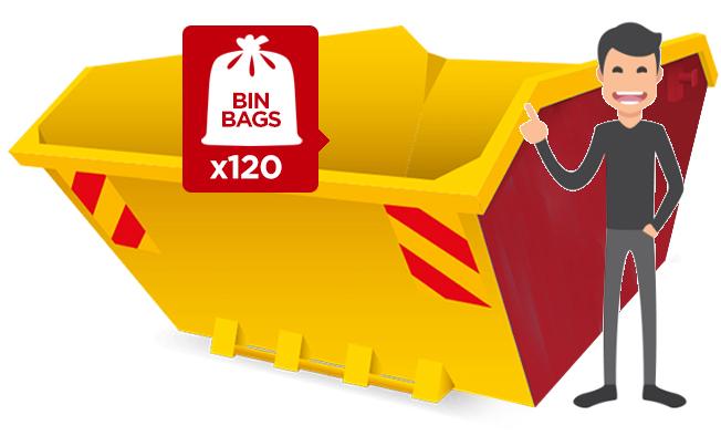 Industrial Maxi 12 Yard Builder Skip