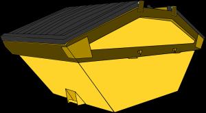 Skip container