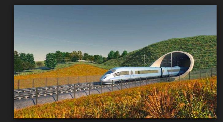 high-speed train link