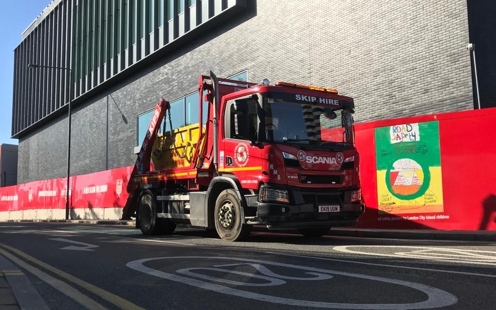RMS Skips for delivery